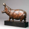 Hippopotamus Bull by Nick Bibby