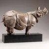 "Indian Rhino (18"") by Nick Bibby"