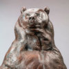 Kodiak Brown Bear (Indomitable Maquette) by Nick Bibby