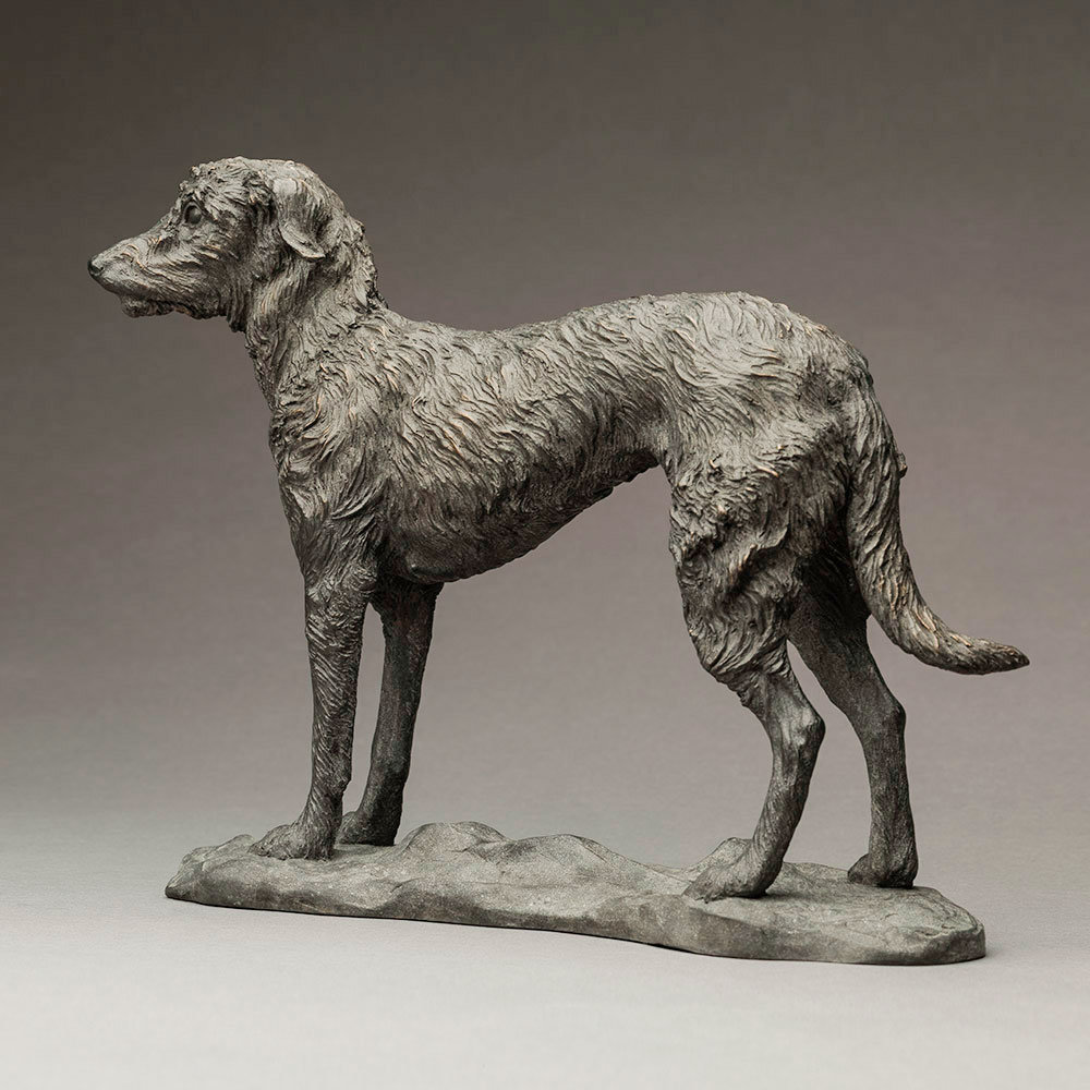 Lurcher (Grace) by Nick Bibby
