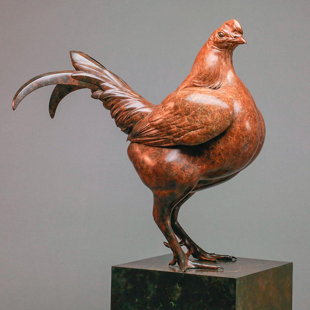 Old English Game Cock Bantam by Nick Bibby