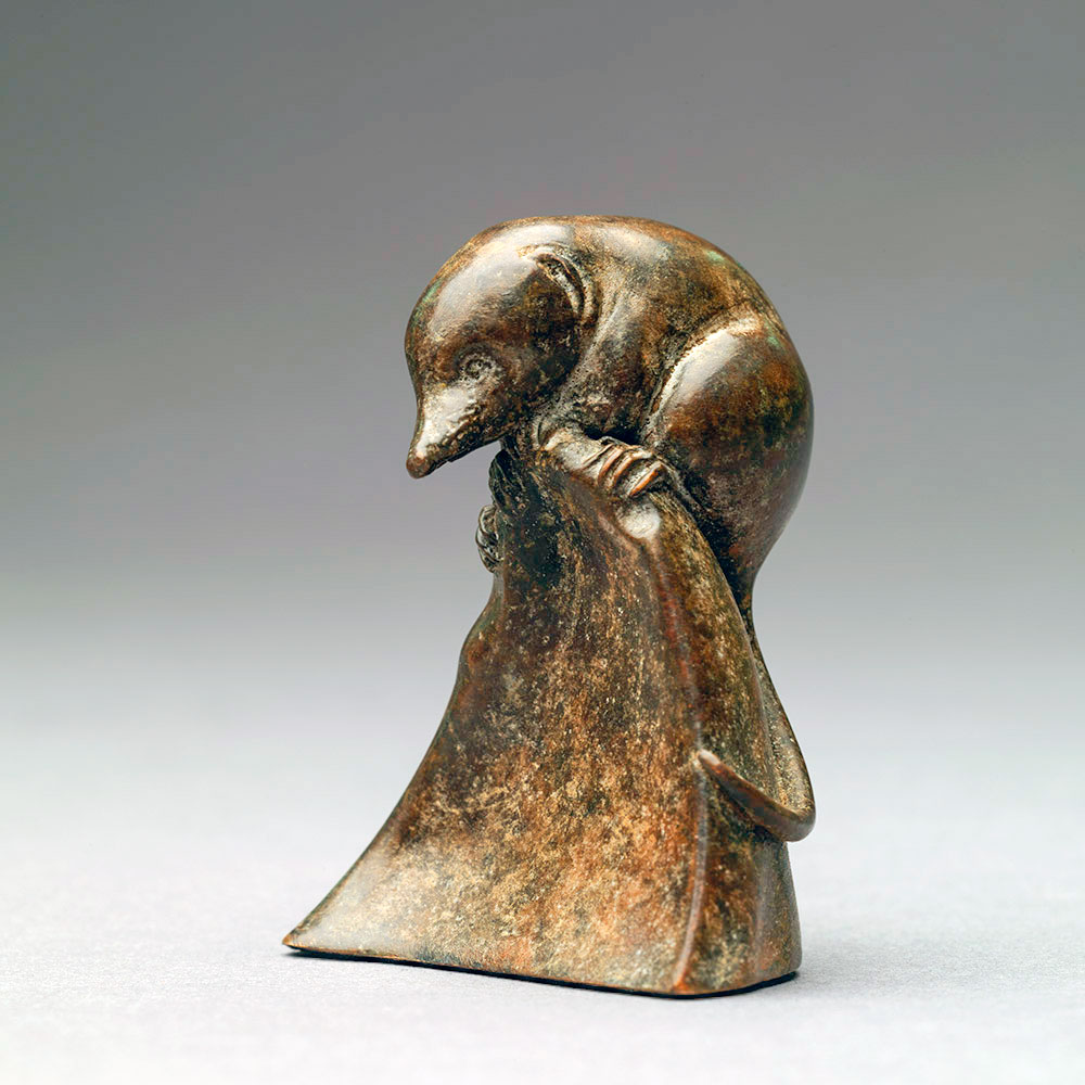 Pygmy Shrew (Bronze) by Nick Bibby