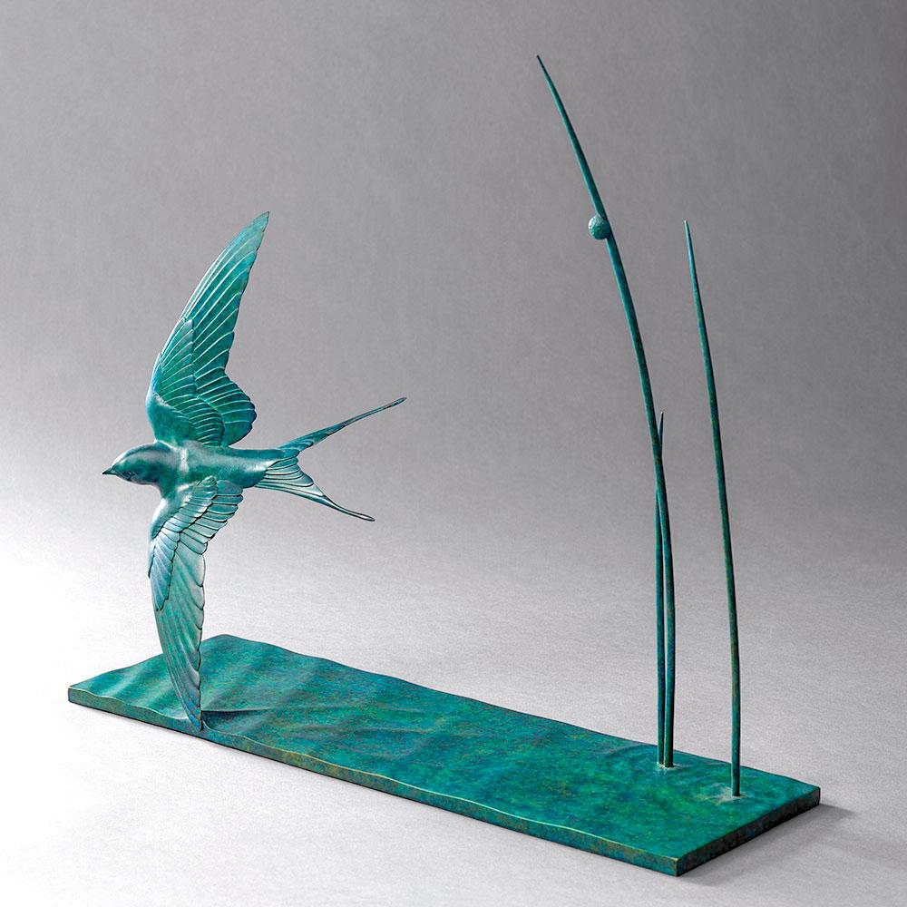 Swallow in Flight by Nick Bibby