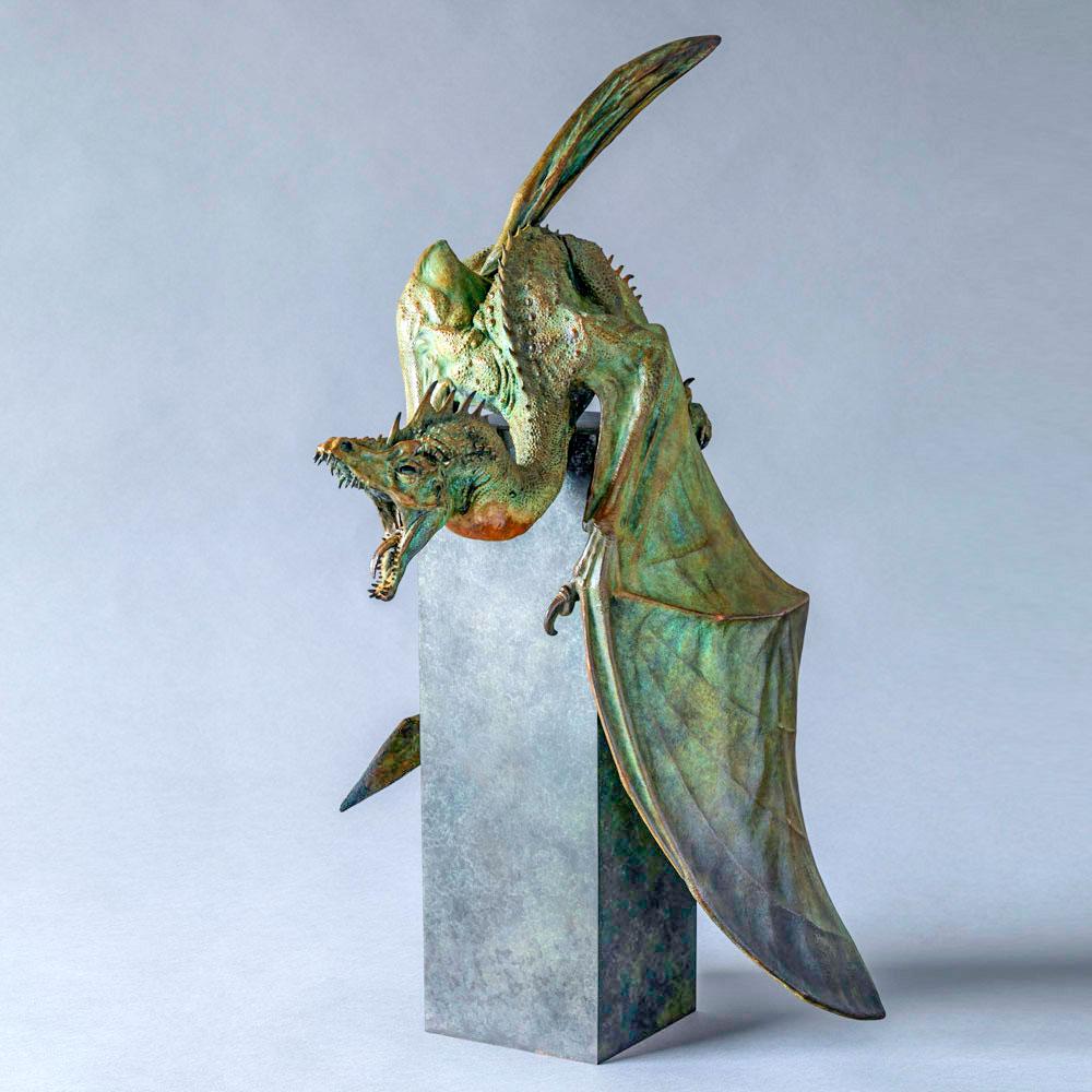 Firedrake Dragon Maquette by Nick Bibby