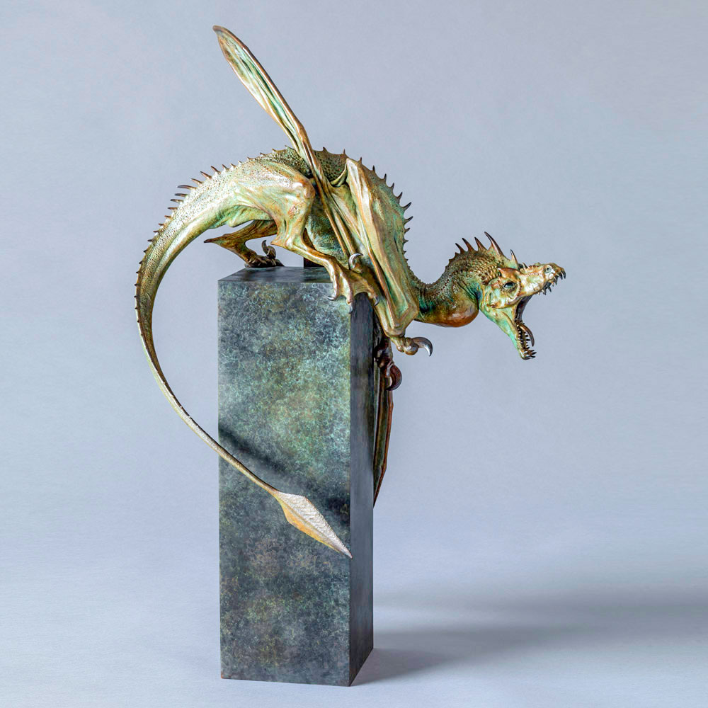 Bronze coulomb The Dragon