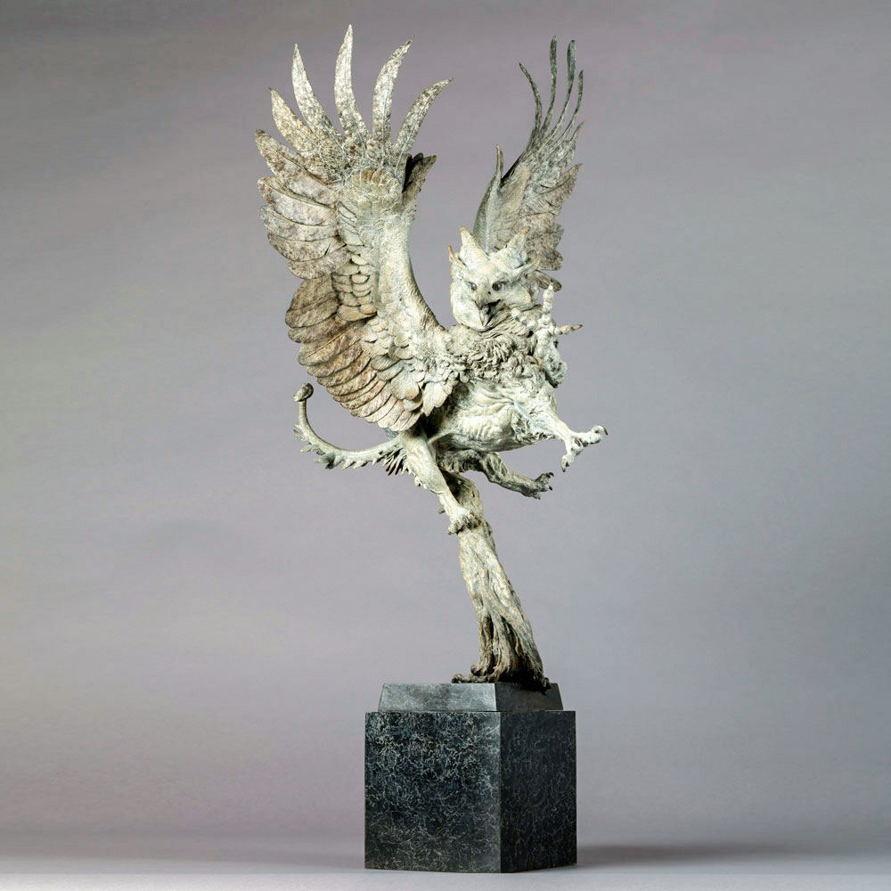 Imperial Griffin Maquette by Nick Bibby