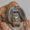 Sumatran Orangutan (Miniature) by Nick Bibby