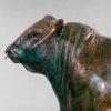"British Longhorn Bull (Blackbrook Philosopher - 20"") by Nick Bibby"