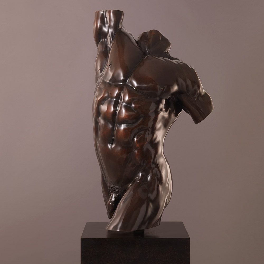 Apollo: Heroic Male Torso (Alternative Patina)