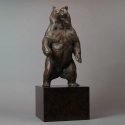 Kodiak Brown Bear (Indomitable - Maquette) by Nick Bibby