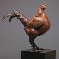 Old English Game Cock Bantam by Nick Bibby
