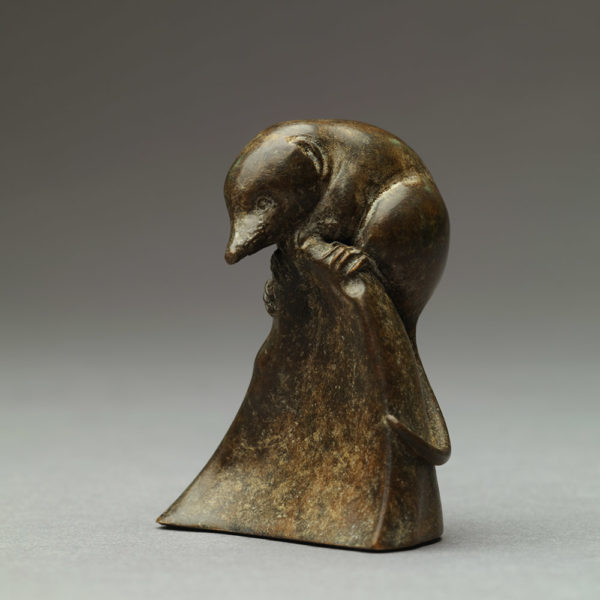 Pygmy Shrew (Bronze) by Nick Bibby