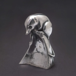 Pygmy Shrew (Sterling Silver) by Nick Bibby