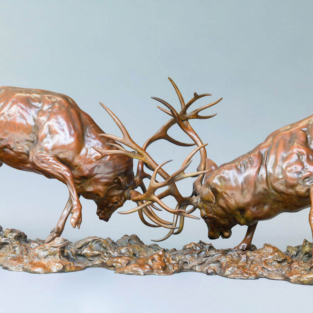 RED DEER STAGS (THE DUEL)